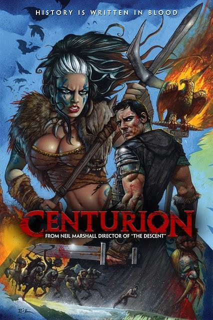 Poster molón y sangriento trailer de Centurión...