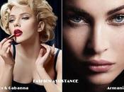 Scarlett Johansson, para D&G Make Megan Fox, Armani Cosméticos
