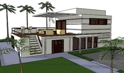 Dise o de casas modernas paperblog for Disenos de residencias modernas