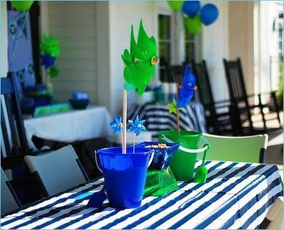 centro de mesa para fiesta cumpleaños niños