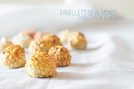 Panellets of Almonds - All Saints' Day