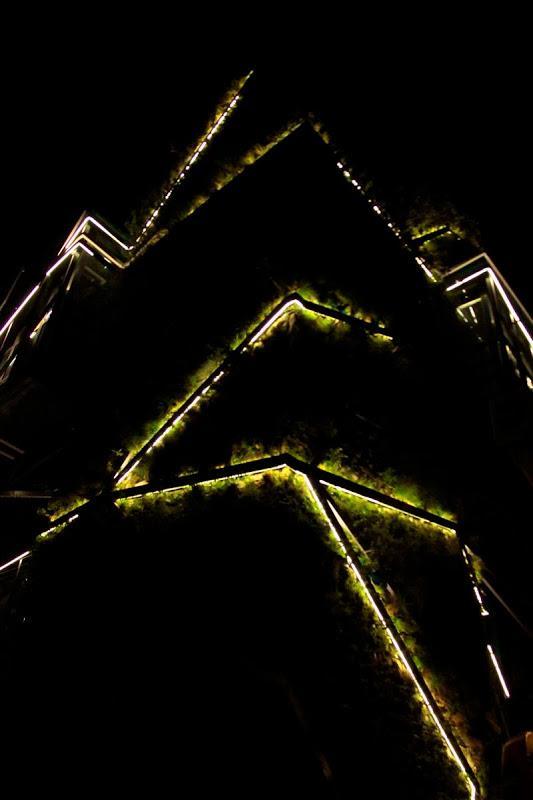 Finalizando la obra del jard n vertical del palacio de congresos de vitoria gasteiz paperblog - Iluminacion vitoria ...