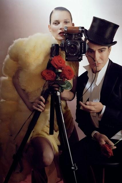 Kate Moss and John Galliano for Vogue UK