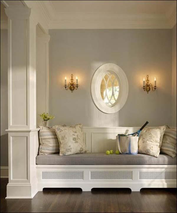 Paredes grises para dar calidez a las casas paperblog - Color topo pared ...