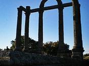 Mármoles, Pórtico Augustobriga (Bohonal Ibor, Cáceres)