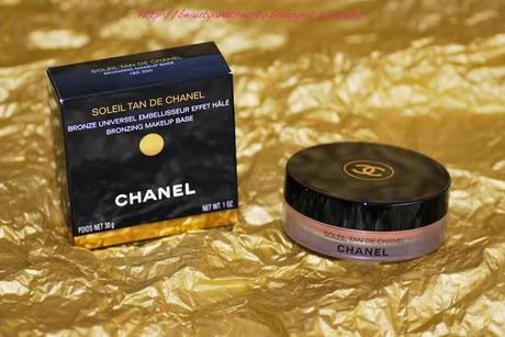 Soleil Tan Chanel - Review photos swatches