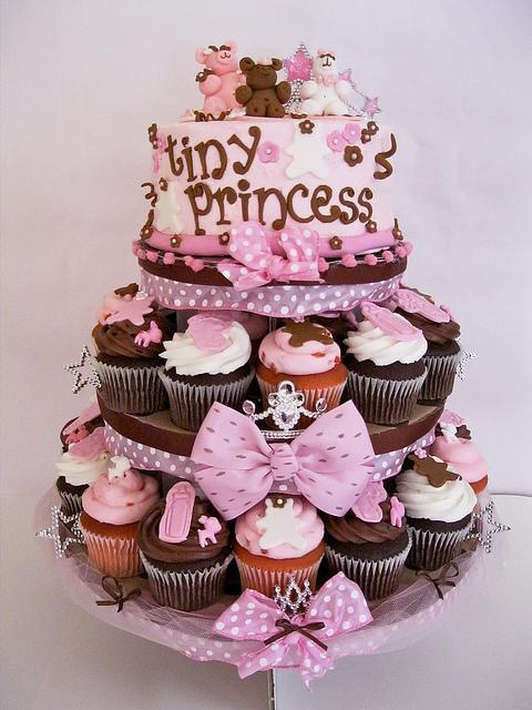 Cupcakes Decorados Con Motivos De Beb 233 S Para Embarazadas