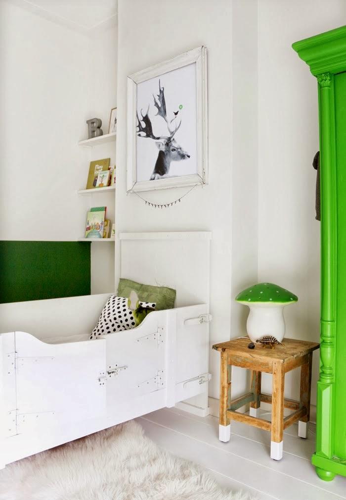 Un dormitorio infantil de estilo nordico industrial en for Dormitorio estilo nordico industrial