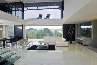 Elegante y moderna casa en medellin paperblog for Decoracion de casas minimalistas fotos