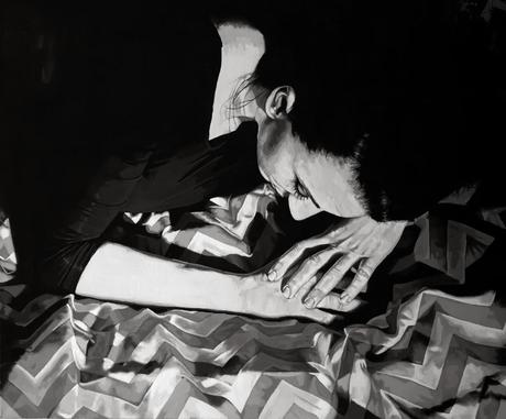 nuncalosabre.Black & White Paintings - Rebecca Adams