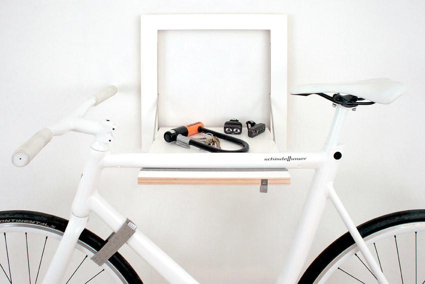 Soportes con estilo para guardar la bicicleta paperblog for Como guardar la bici en un piso