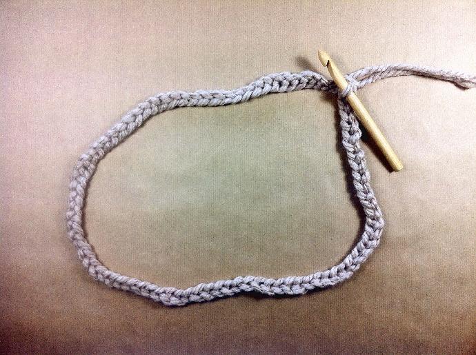como tejer bufanda infinita o cuello circular