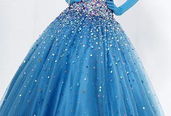 Vestidos de 15 a os color turquesa fotos paperblog - Como hacer color turquesa ...