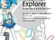 anime llamada Inori Aizawa nueva mascota navegador Internet Explorer