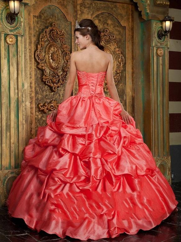 812feb590 Vestidos De 15 Años Color Salmón Fotos Paperblog