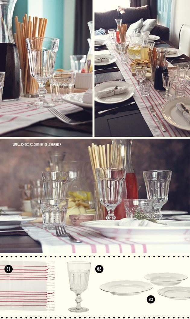 Un pedacito de la toscana en el sal n de casa paperblog - Caminos de mesa ikea ...