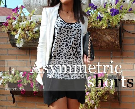 Asymmetric shorts