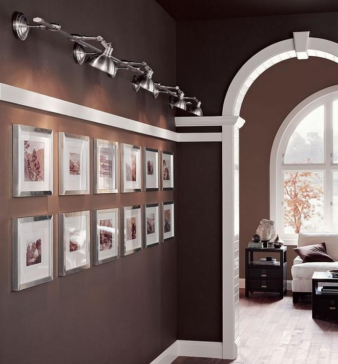 C mo iluminar el pasillo paperblog - Iluminacion para cuadros ...