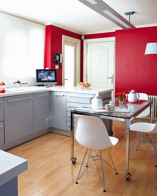 Una cocina con isla y office paperblog - Cocina office ...
