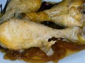 Muslitos pollo cebolla caramelizada