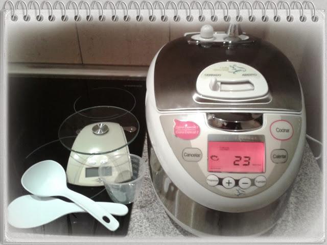 Cocinando con lady gourmet y cuidando nuestra piel con celltone en directo a casa paperblog - Robot de cocina lady gourmet ...