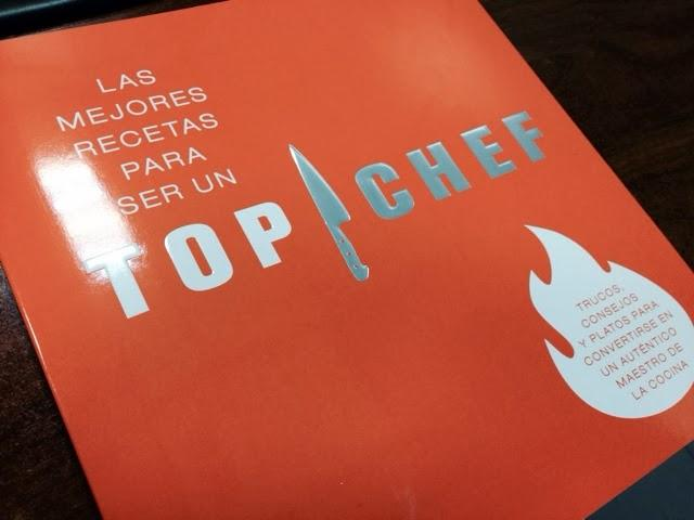 El libro de TOP CHEF