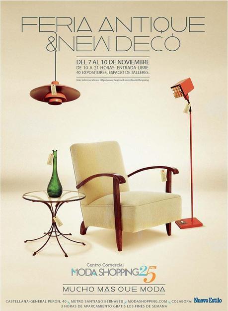 FERIA ANTIQUE & NEW DECO 2013