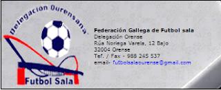 Calendarios del Fútbol Sala base en Ourense 2013/2014