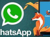 Whatsapp Firefox casi hecho