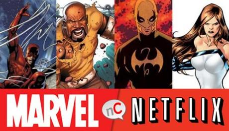 Nuevas series Marvel Netflix Daredevil Luke Cage Iron First Jessica