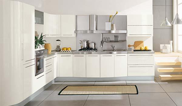 Lindas cocinas blancas - Paperblog