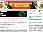 policía bloquea navegador