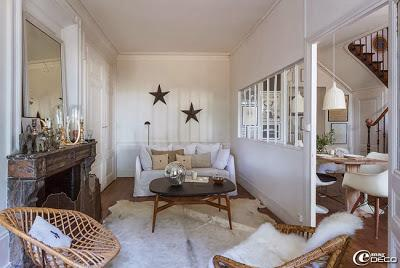 casa en francia estilo rustico paperblog. Black Bedroom Furniture Sets. Home Design Ideas