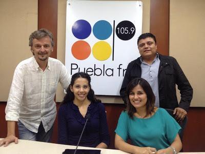 Entrevista en Radio Puebla (México)