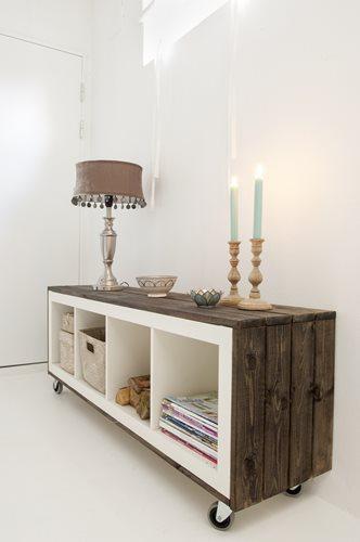 Vivienda con muebles reciclados de madera paperblog for Reciclado de muebles de madera antiguos