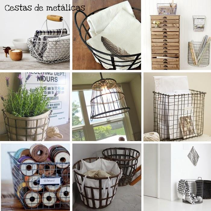 Decorando con cestas paperblog for Decoracion de cestas
