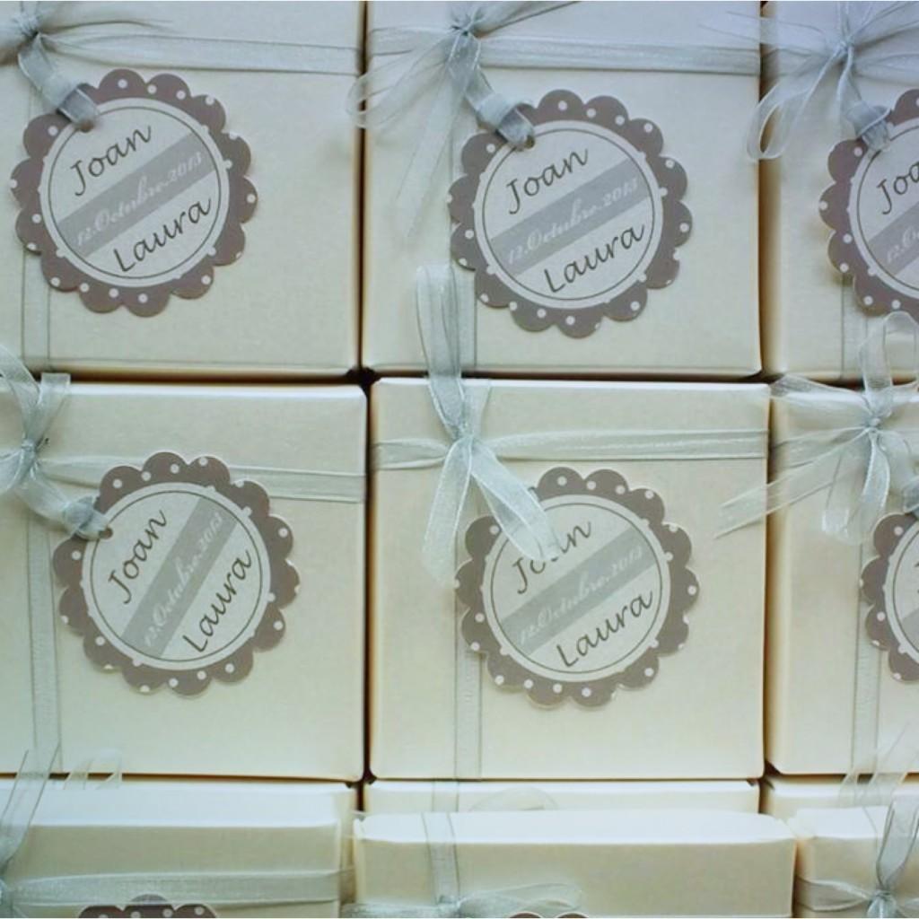 Unas etiquetas para detalles de boda muy elegantes paperblog - Detalles de boda elegantes ...