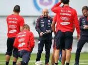 Selección nacional entrena londres cara partido inglaterra