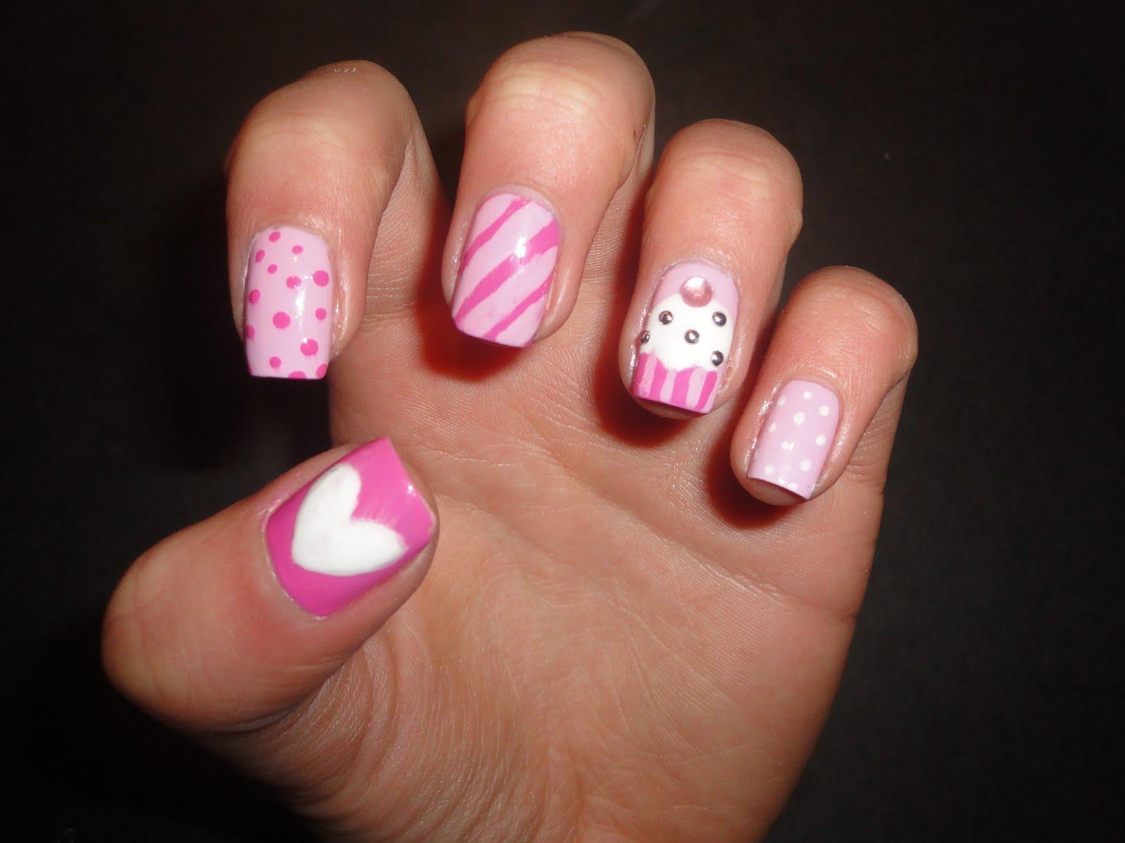 Diseños de uñas fáciles. fotos - Paperblog