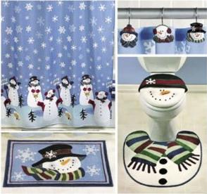 accesorios navideos para tu cuarto de bao
