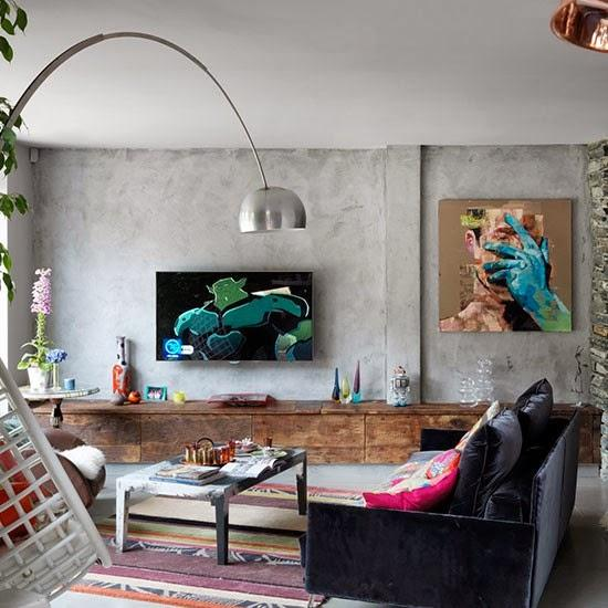 Una casa con diferentes revestimientos de paredes paperblog - Casa de revestimientos ...