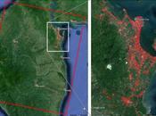 Mapa daños NASA ayuda respuesta desastre tifón Haiyan