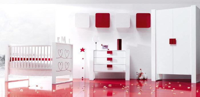 Que color pintar el dormitorio de nuestros beb s paperblog - Pintura para habitacion de ninos ...