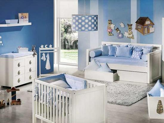 Que color pintar el dormitorio de nuestros bebés - Paperblog