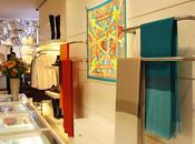 Vitrina artista nuevo local Hermès