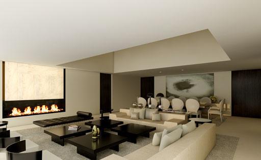 Proyecto de interiorismo para la vivienda dise ada por a - Interiorismo madrid ...