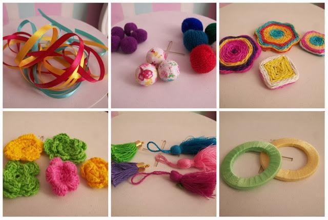 D i y borla decorativa super colorida paperblog for Borlas para muebles