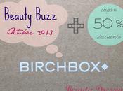 """Birchbox octubre 2013 """"Beauty Buzz"""""""
