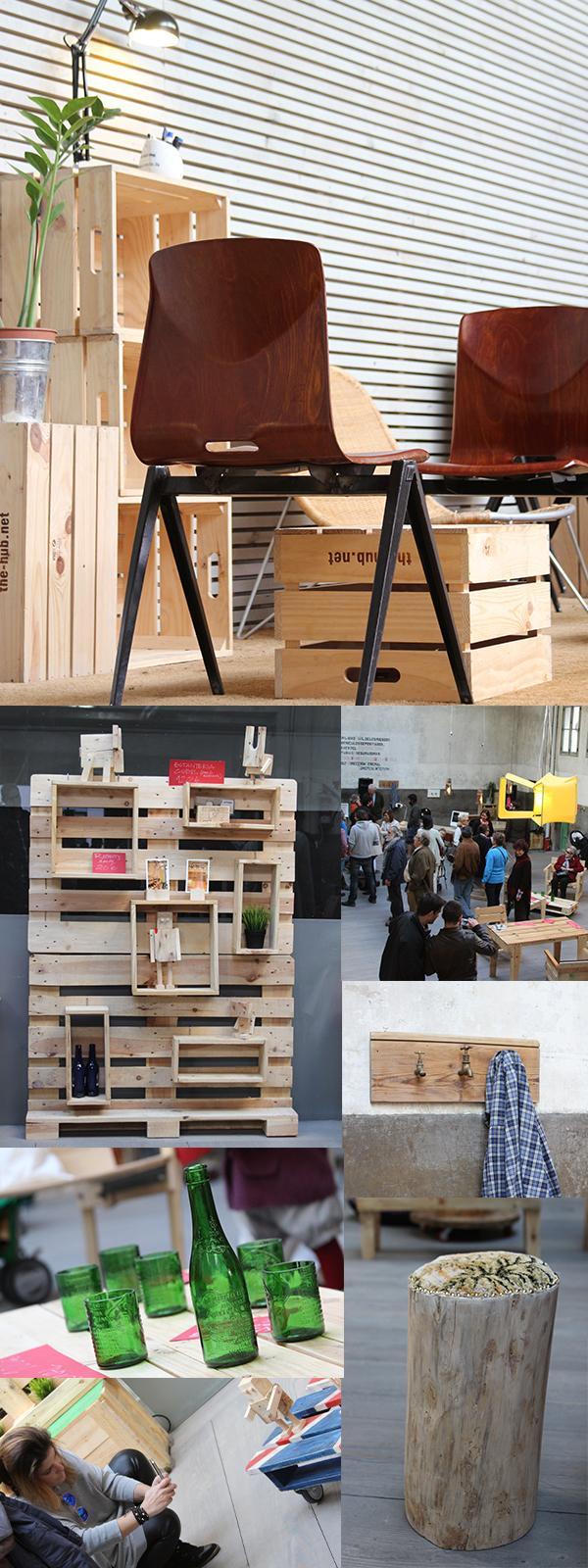 Artilujos un nuevo portal de muebles reciclados paperblog for Muebles originales reciclados