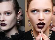 Make trend: Dark lips